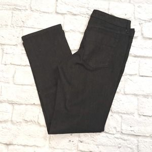 Mossimo Mid-rise Straight Black Skinny Jeans
